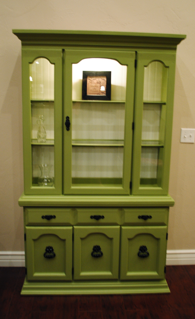 how to refinish a hutch craft. Black Bedroom Furniture Sets. Home Design Ideas