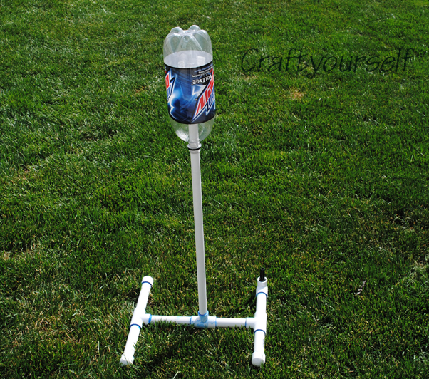 Water Bottle Rocket: Bottle Rocket Launcher Using PVC Pipe
