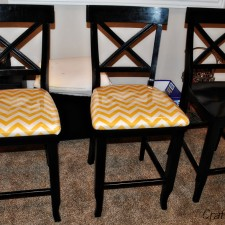 chairs finished chevron