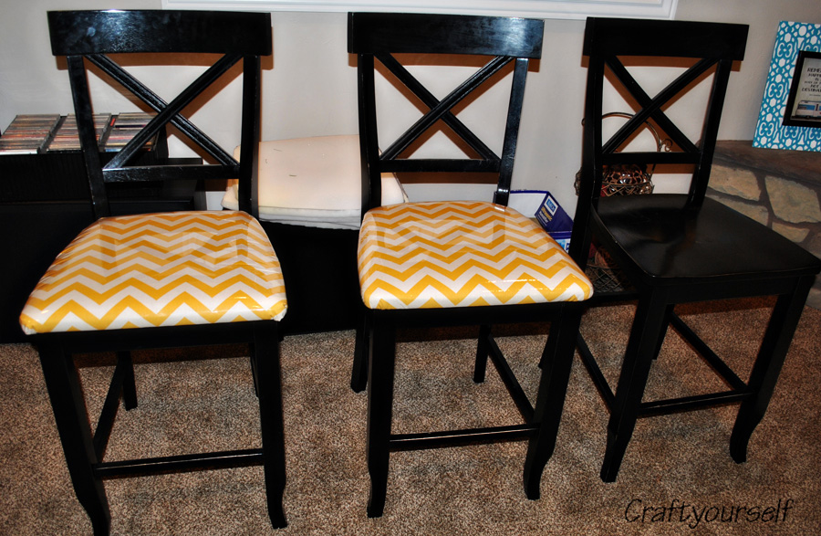 Upholstering dining room chairs craft