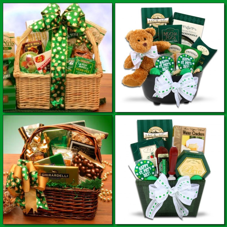 St. Patrick's holiday gift basket giveaway