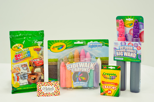 Building an Easter basket with Crayola (Giveaway)