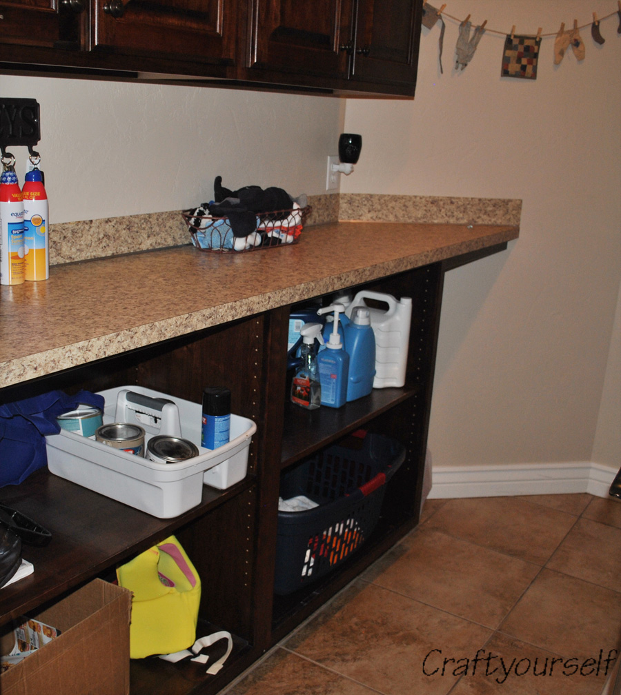 Laundry room other side
