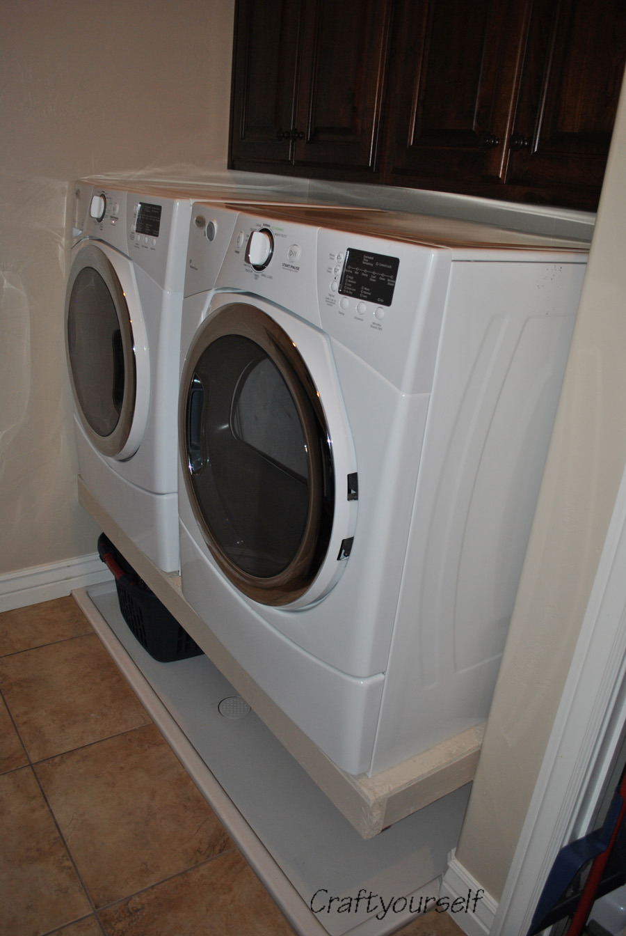 Goodbye Washer & Dryer Pedestals!