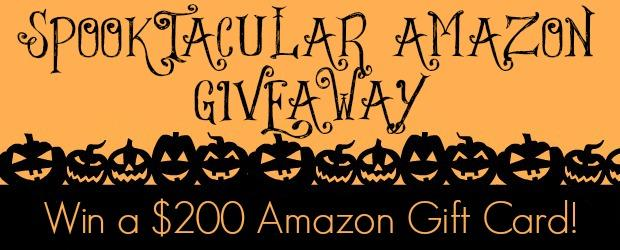 SpookTacular Amazon $200 Giveaway!!