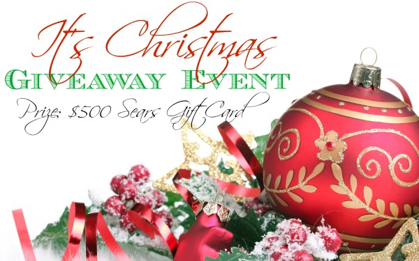 Christmas $500 Sears Gift Card Giveaway!