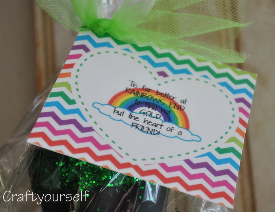 Pot of gold friend printable