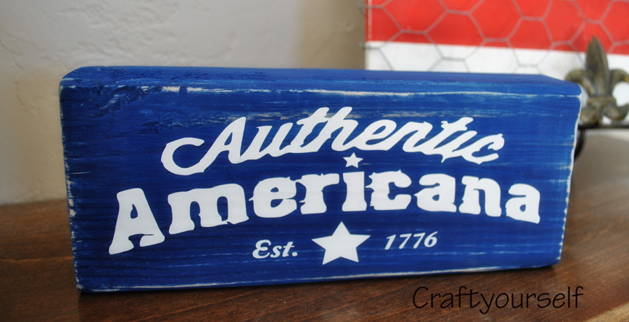 Authentic Americana Block