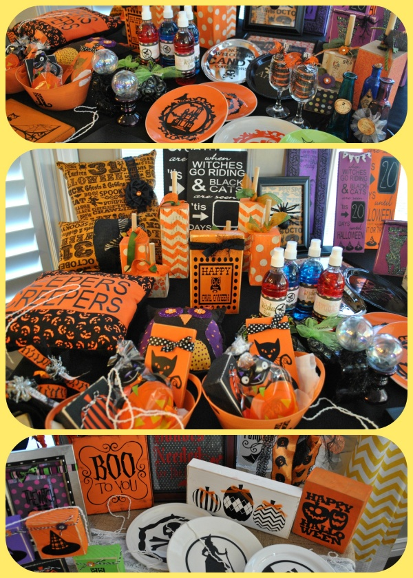 Halloween prizes Collage