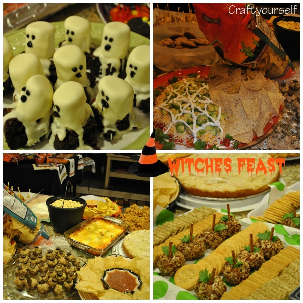 HalloweenfoodCollage