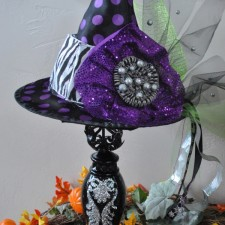 Pedestal Witches Hat distant