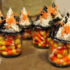 witch hat party favors distant