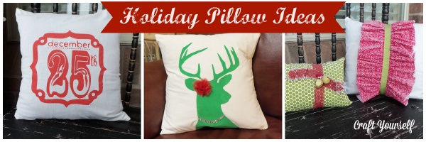 "Holiday Home Décor Week ""Plethora of Christmas Pillows"""