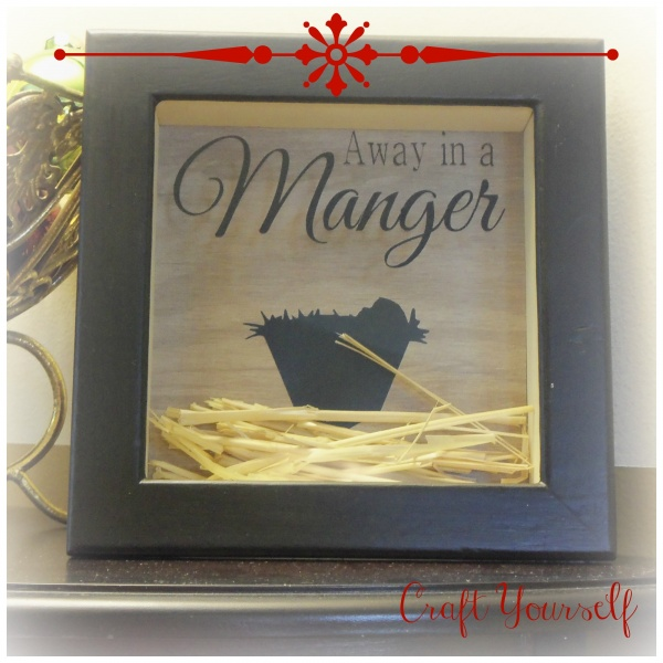 "Holiday Home Décor Week ""Christmas Plate, Frames and Shadowboxes"""