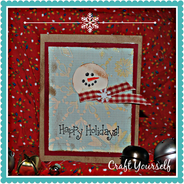 "Handmade Holiday Card Series ""Day 3"""