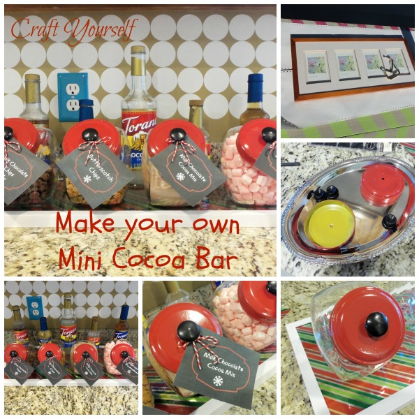 Mini cocoa bar tags