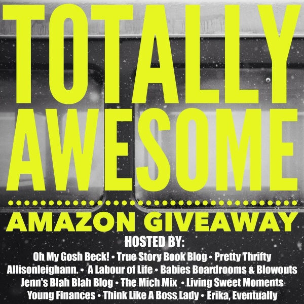 December's totally awesome Amazon giveaway