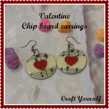 valentine chip board earrings 1