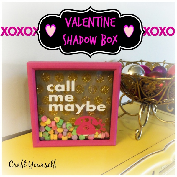 valentine shadow box single