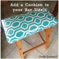 Add a Cushion to your Bar Stools