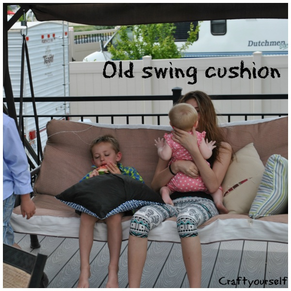 Old swing cushion