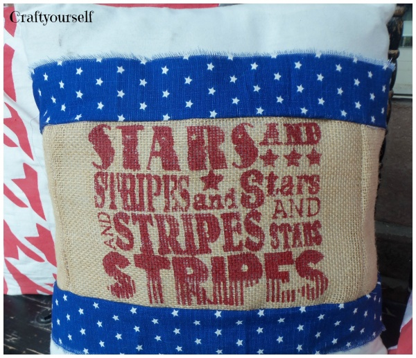 Star pillow sleeve