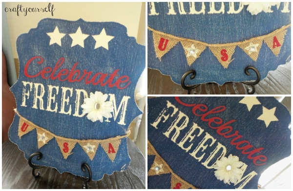 celebrate freedom board trio