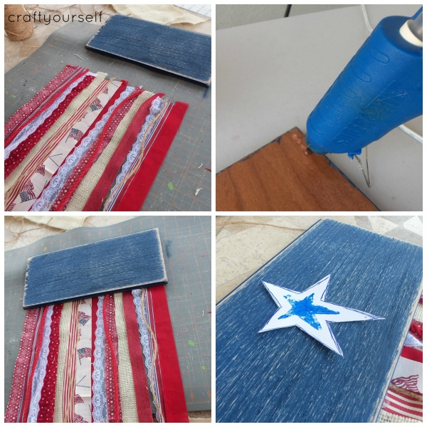 fringe flag assembly