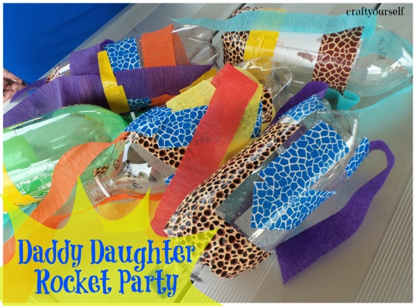 Daddy daughter rocket party
