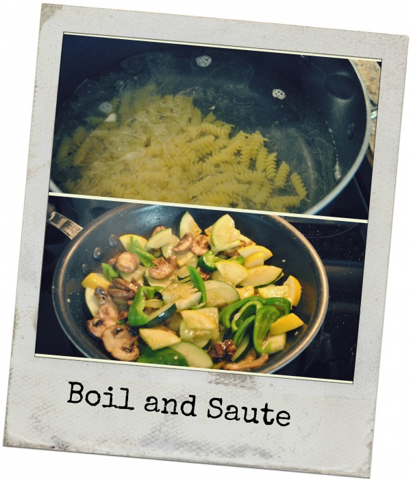 Boil and Saute