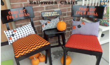 Sit for a spell halloween chairs