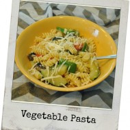 Warm Vegetable Pasta Dish