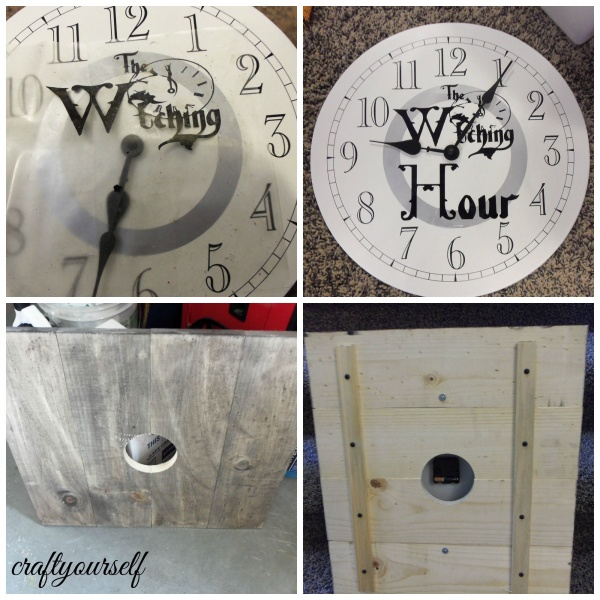 witching hour clock assembly