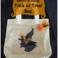 Bewitching Trick or Treat Bag