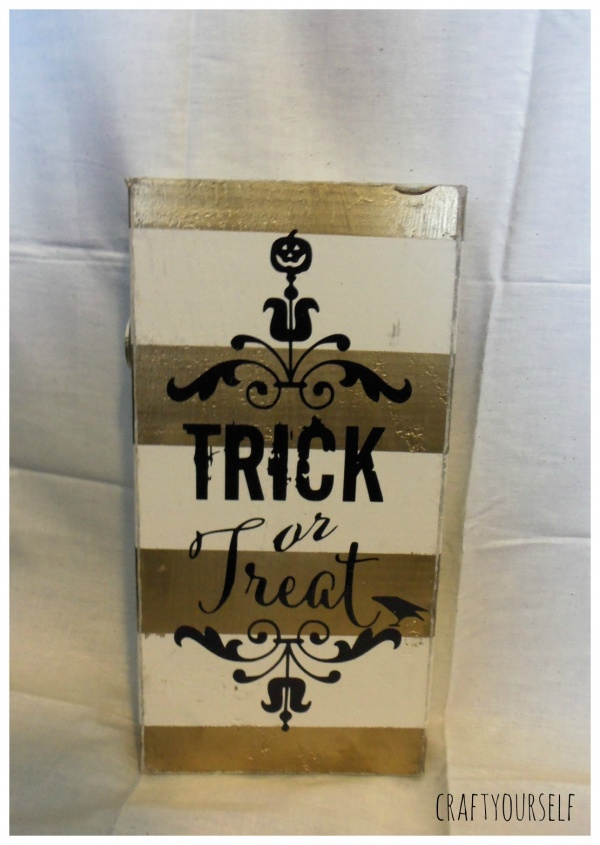 trick or treat board