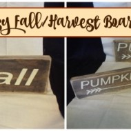 Easy Fall/Harvest boards