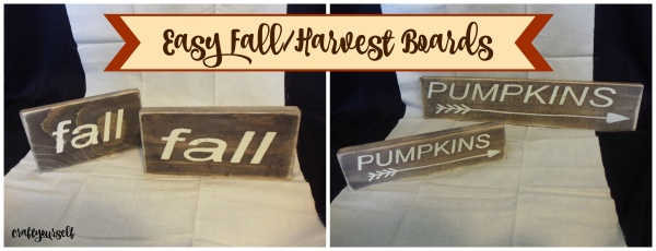 easy fall harvest boards