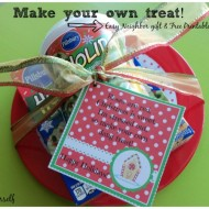 """Make your own treat"" Easy Neighbor gift"