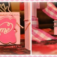 Valentines Block favors