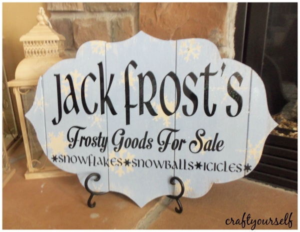 jack frost sign