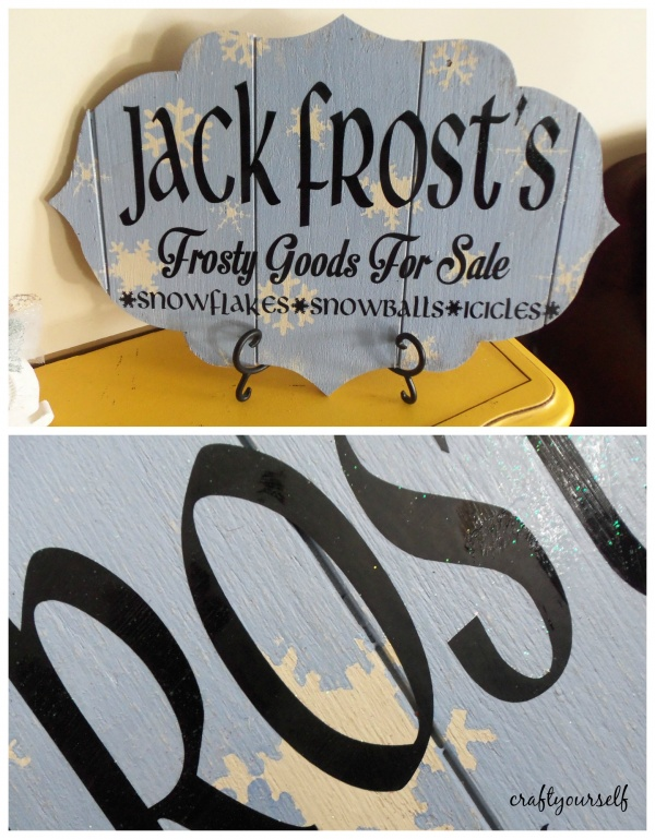 jack frost winter sign