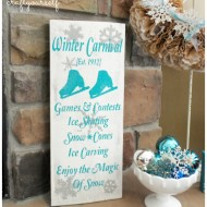 Vintage Winter Carnival Board