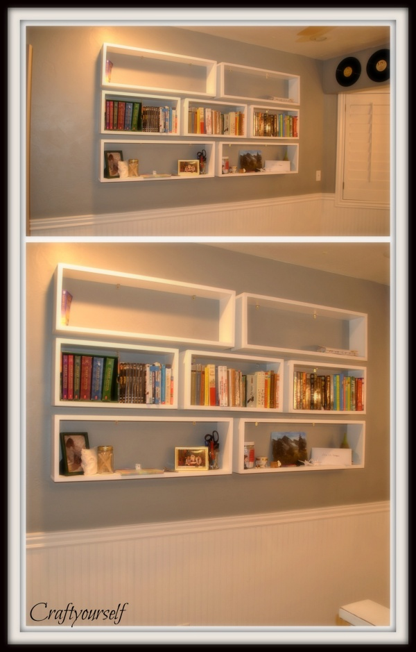 bookshelves double