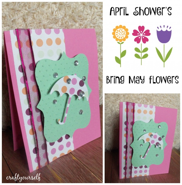 umberlla card april showeres