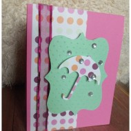 Spring Time Umbrella Card