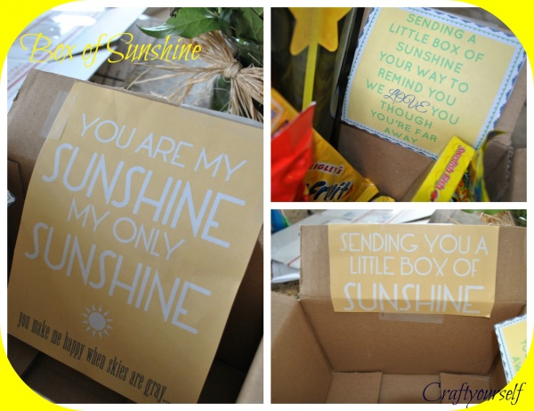 Sunshine box prints