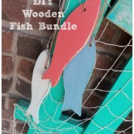 DIY Wooden Fish Bundle