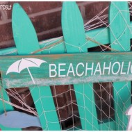 Front porch Beachaholic Summer Sign