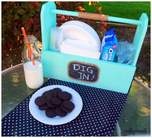 multi purpose caddy and OREO Thins