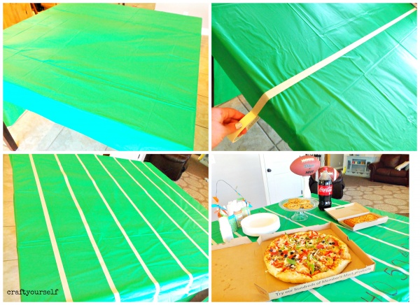 pizza meal deal table cloth